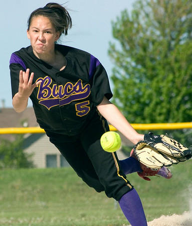 2008 - Belvidere / Belvidere North HS softball 5-21