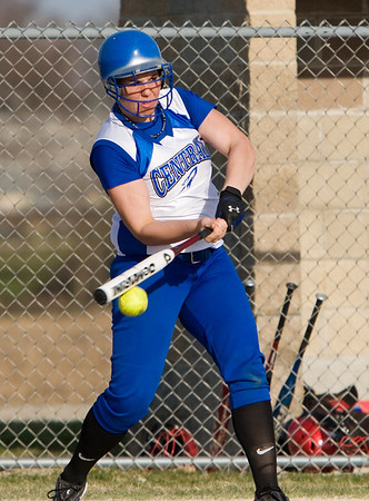 2008 - Burlington Central softball 4-16