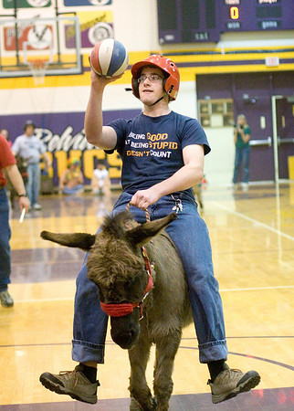 2008 - Donkey Basketball at BHS 4-17